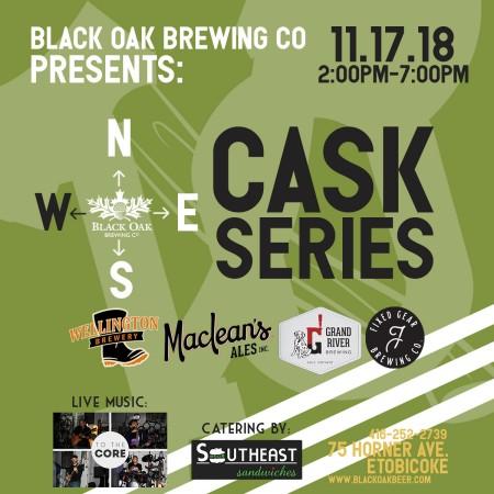Black Oak Brewing Announces Details of N.S.E.W. Cask Series West Edition
