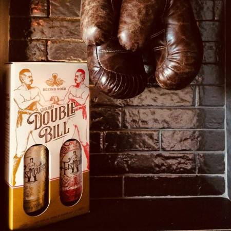 Boxing Rock Brewing Fisticuffs Series Continues with Holiday Double Bill Gift Pack