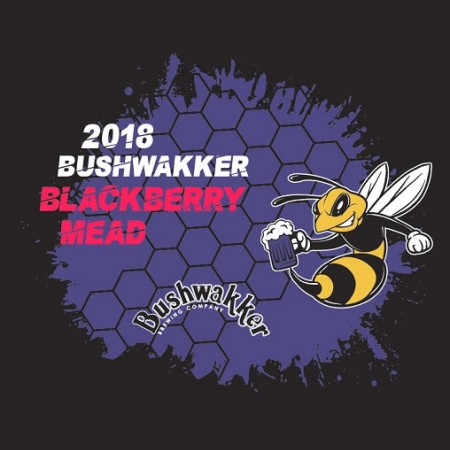 Bushwakker Brewing Announces 2018 Vintage of Blackberry Mead