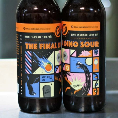 Coal Harbour Brewing Sour Series Concludes with The Final Dino Sour