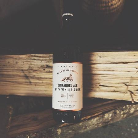 Field House Brewing Releases Zinfandel Ale With Vanilla & Oak