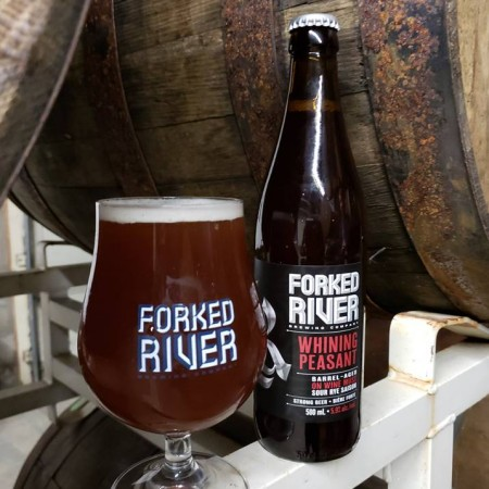 Forked River Brewing Releases Whining Peasant Barrel-Aged Saison