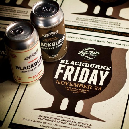 Left Field Brewery Blackburne Imperial Stout Returning This Week