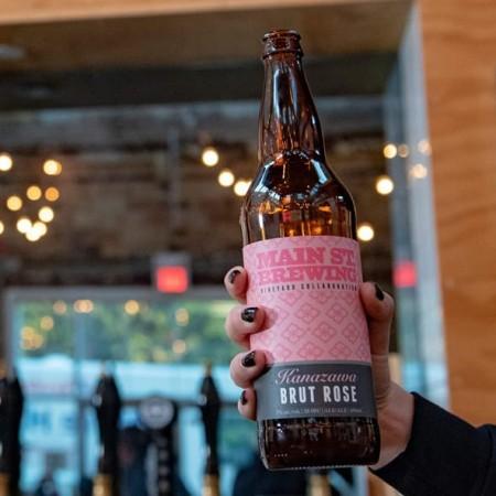 Main Street Brewing and Kanazawa Wines Release Brut Rosé