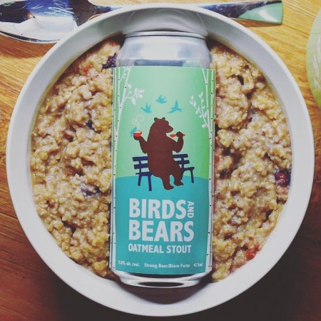 Parkside Brewery and Cascadia Liquor Stores Release Birds and Bears Oatmeal Stout