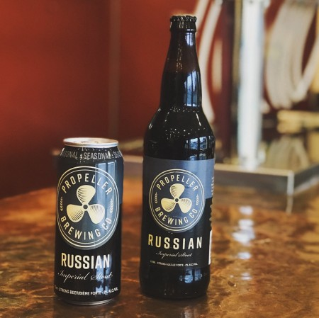 Propeller Brewing Brings Back Russian Imperial Stout in Cans & Limited Bottles