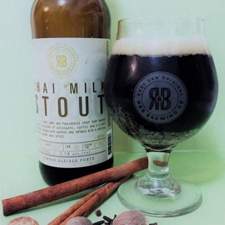 R&B Brewing Mount Pleasant Series Continues with Chai Milk Stout
