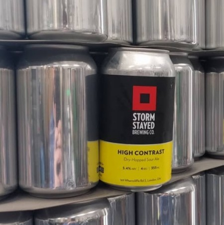 Storm Stayed Brewing Releases High Contrast Dry-Hopped Sour
