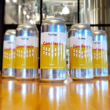 TrailWay Brewing Releases Candlepin Kolsch for Bowl-a-Drome