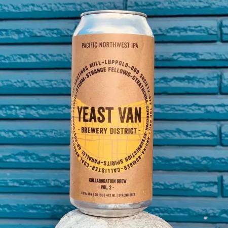 Yeast Van Brewery District Collective Releases Pacific Northwest IPA