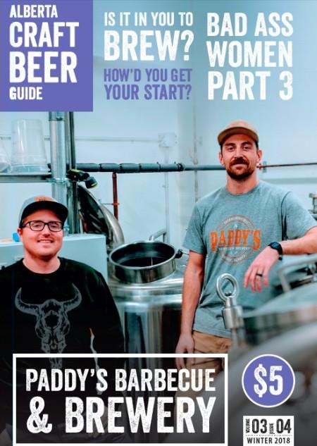 Alberta Craft Beer Guide Winter 2018 Issue Launching Next Week