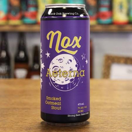 Black Oak Brewing Brings Back Nox Aeterna Smoked Oatmeal Stout