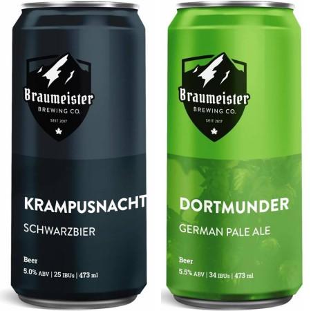 Braumeister Brewing Releasing Pair of Winter Seasonals