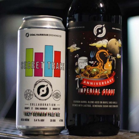 Coal Harbour Brewing Releases 7th Anniversary Imperial Stout and Collaborative Pale Ale with Doan's Craft Brewing & Bright Eye Brewing