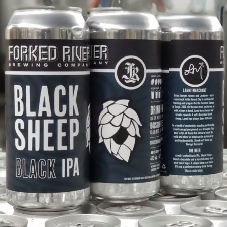 Forked River Brewing Releases Black Sheep Black IPA with Marathon Runner Lanni Marchant