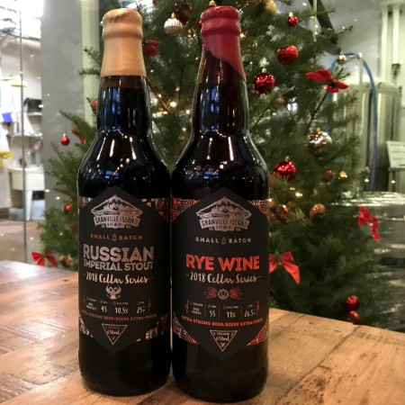 Granville Island Brewing Small Batch Cellar Series Continues with Imperial Stout and Rye Wine