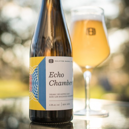 Halcyon Barrel House Expands Distribution of Echo Chamber Dry-Hopped Sour