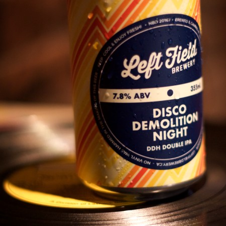 Left Field Brewery Releases Disco Demolition Night DDH Double IPA