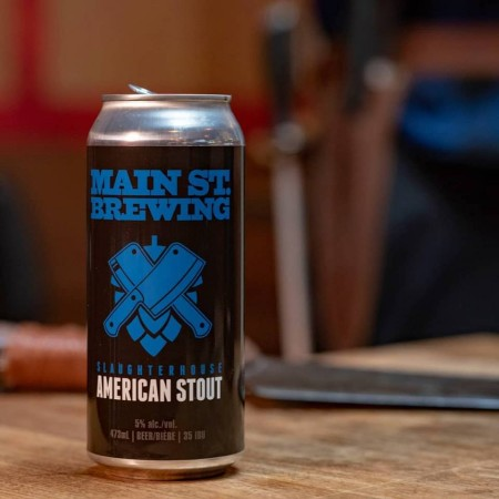 Main Street Brewing Releases Slaughterhouse American Stout