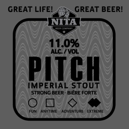 Nita Beer Releases Pitch Imperial Stout