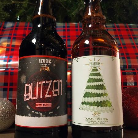 Picaroons Traditional Ales Releases Blitzen Coffee Porter & Xmas Tree IPA