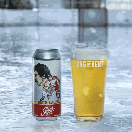 Sons of Kent Brewing Releases Doc's Lager