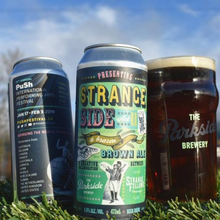 Parkside Brewery & Strange Fellows Brewing Release Strange Side Act II for PuSh Arts Festival