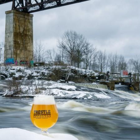 Trestle Brewing Releases Ice Crocodile Winter Saison