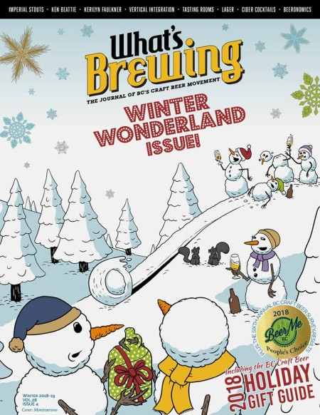What's Brewing Winter 2018 Issue Now Available