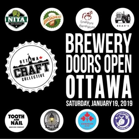 Brewery Doors Open Ottawa Announced for Next Weekend