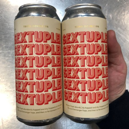 Dageraad Brewing and Sooke Brewing Releasing SEXTUPLE! Abbey Tripel Double IPA