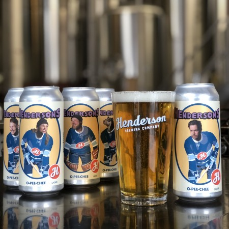 Henderson Brewing Ides Series Continues with O-Pee-Chee Lager