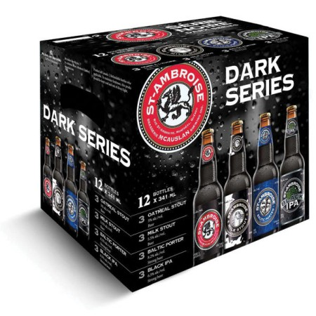 McAuslan Brewing Releases St-Ambroise Dark Series Mix Pack