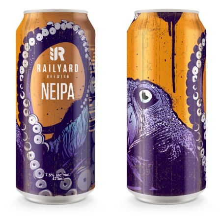 Railyard Brewing Releasing Cans of NEIPA
