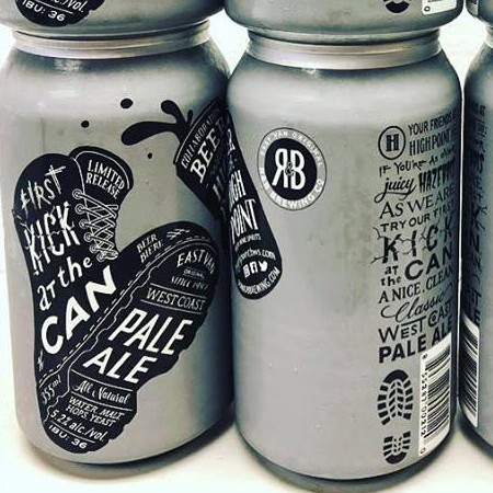 R&B Brewing and High Point Liquor Store Release First Kick At The Can Pale Ale