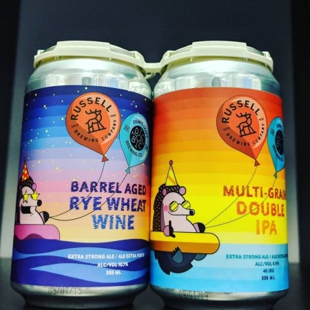 Russell Brewing and Doan's Craft Brewing Releasing Collaborative 4-Pack