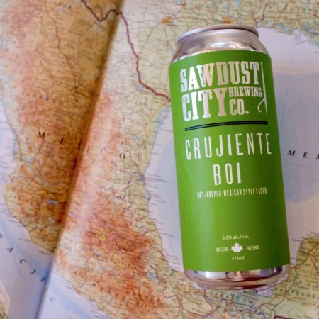 Sawdust City Brewing and Cassel Brewery Release Crujiente Boi Mexican Style Lager