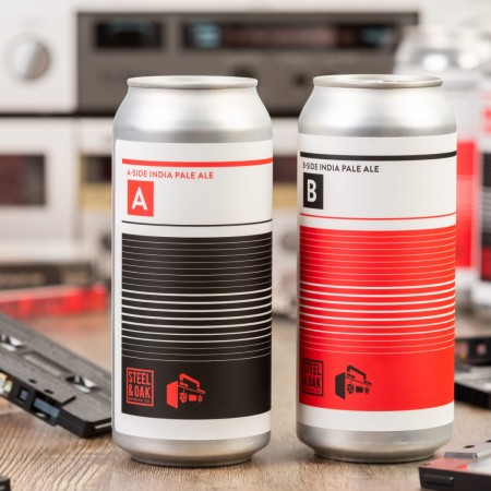 Steel & Oak Brewing and Boombox Brewing Releasing A-Side & B-Side IPA Mixed Pack