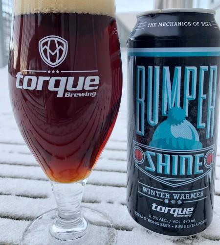 Torque Brewing Brings Back Bumpershine Winter Warmer