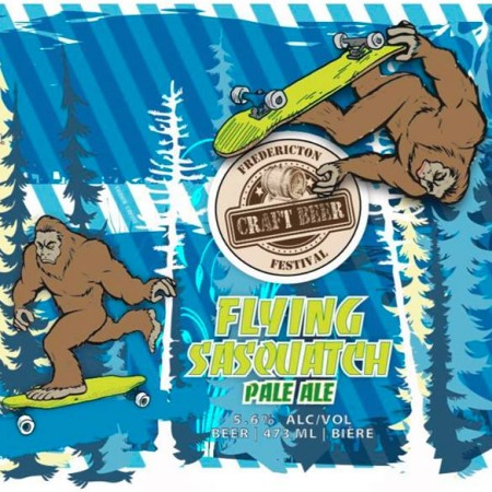 Fredericton Craft Beer Festival and Flying Boats Brewing Release Flying Sasquatch Pale Ale