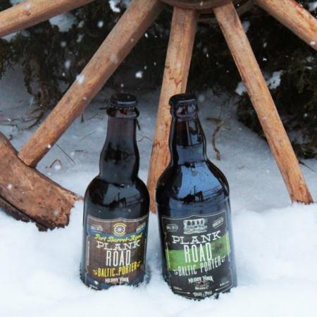Muddy York Brewing Brings Back Original & Barrel-Aged Plank Road Baltic Porter