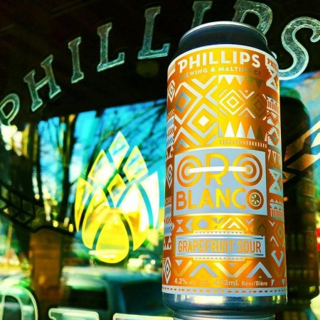 Phillips Brewing Releases Oro Blanco Grapefruit Sour