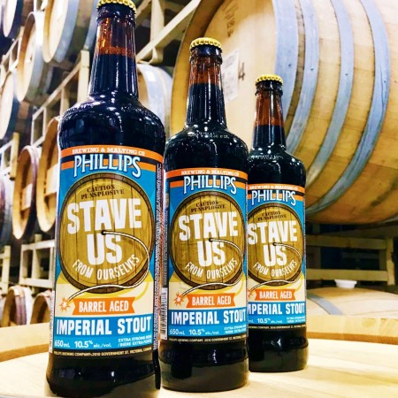 Phillips Brewing Releases Stave Us From Ourselves Barrel Aged Imperial Stout
