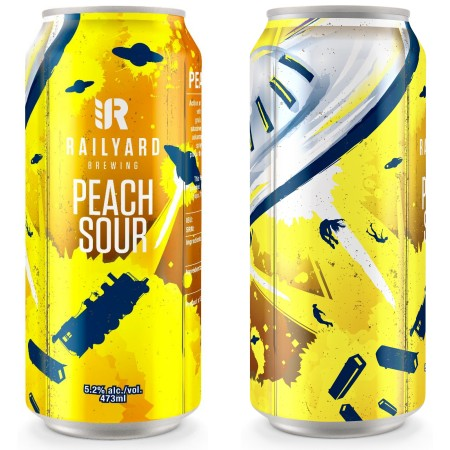 Railyard Brewing Releasing Cans of Peach Sour