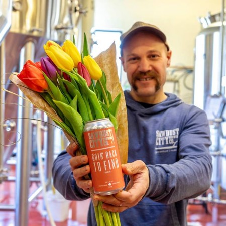 Sawdust City Brewing Releasing Goin' Back To Find Spring IPA