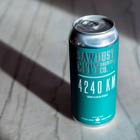 Sawdust City Brewing and Bomber Brewing Release 4240 KM Brown IPA