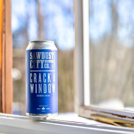 Sawdust City Brewing and Indie Ale House Releasing 2019 Edition of Crack a Window Experimental Pale Ale