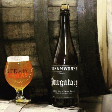 Steamworks Brewing & Blasted Church Vineyards Release Purgatory Barrel Aged Brett Saison