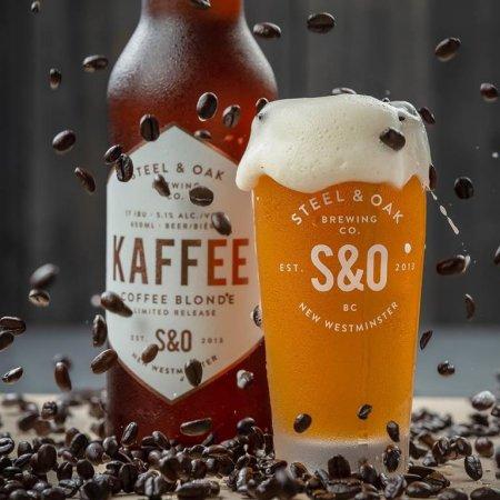 Steel & Oak Brewing and Timbertrain Coffee Roasters Release 2019 Edition of Kaffee Coffee Blonde