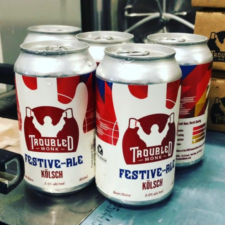 Troubled Monk Brewery Releases Official Beer for 2019 Canada Winter Games